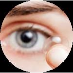 Купить двухнедельные контактные линзы в Симферополе